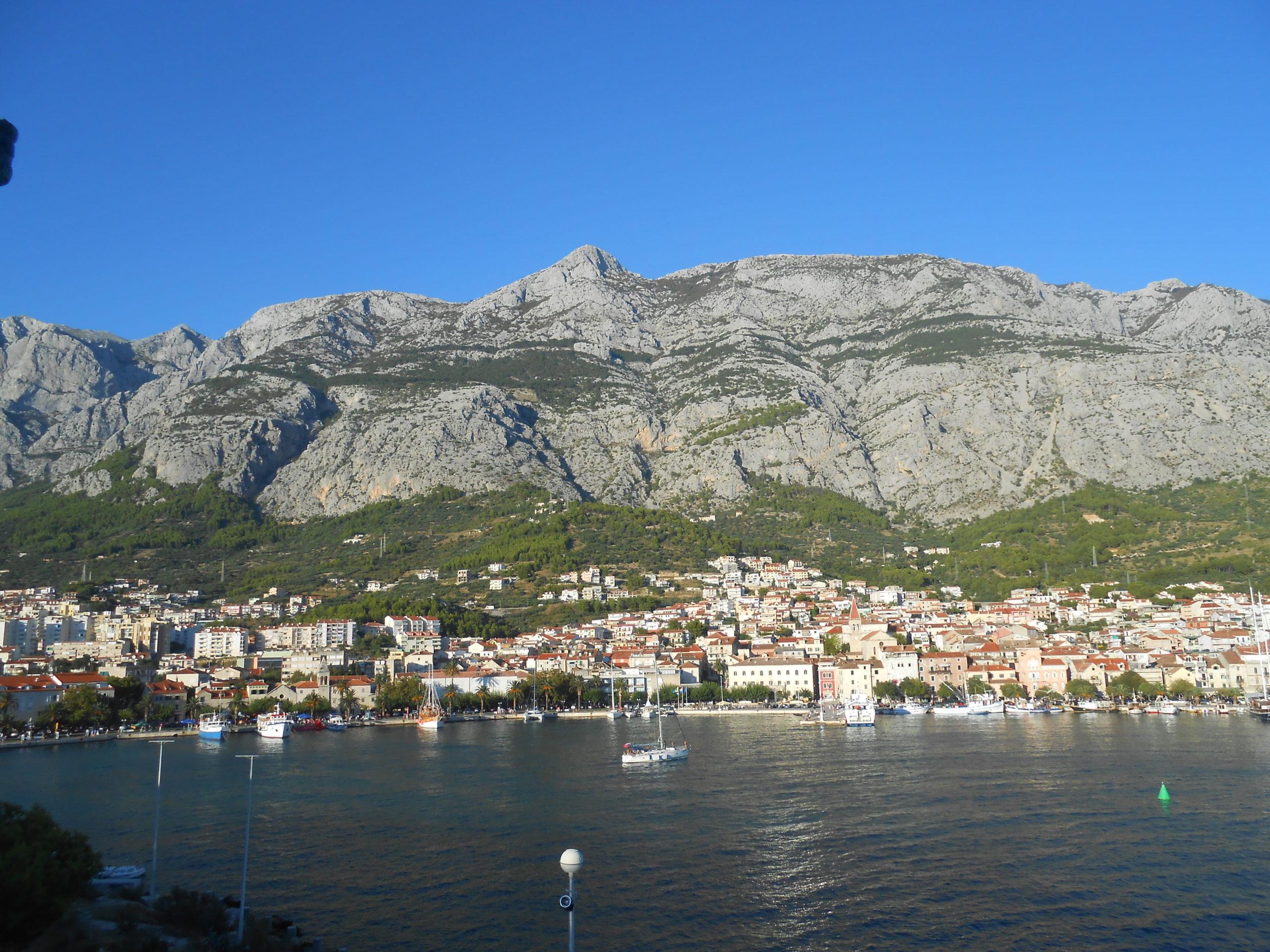 Vue sur Makarska