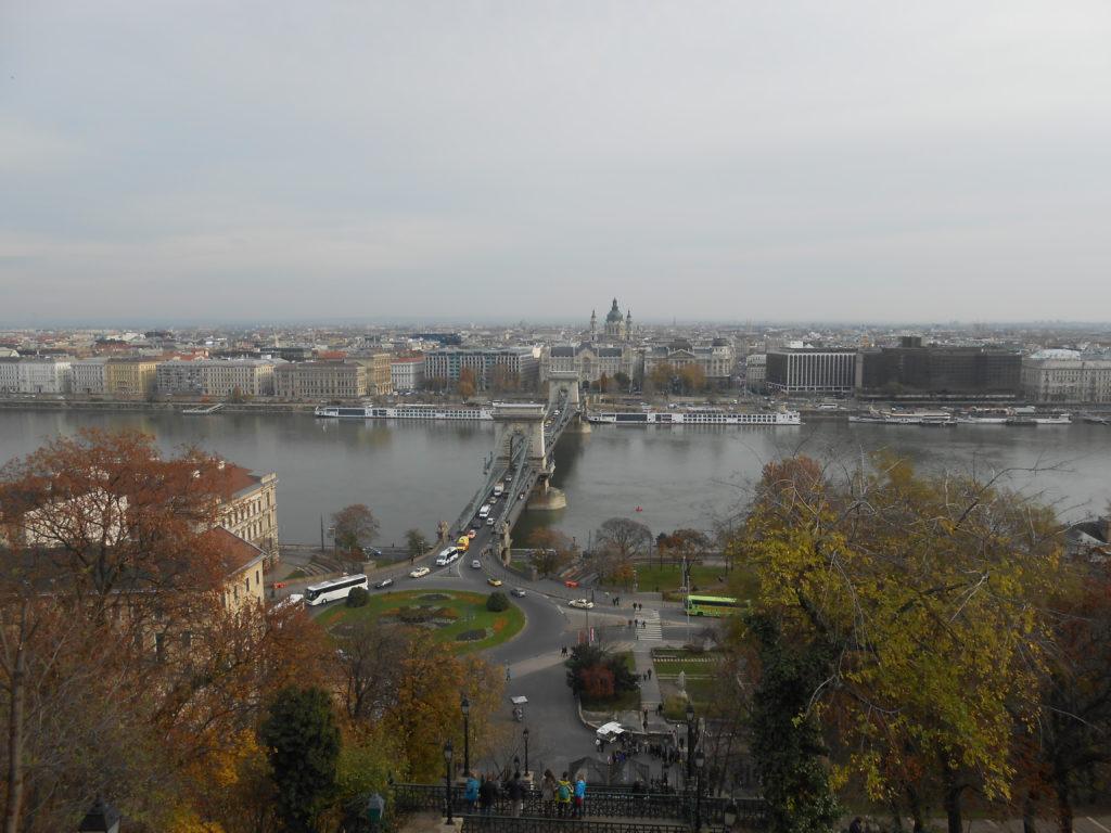 Vue sur Budapest