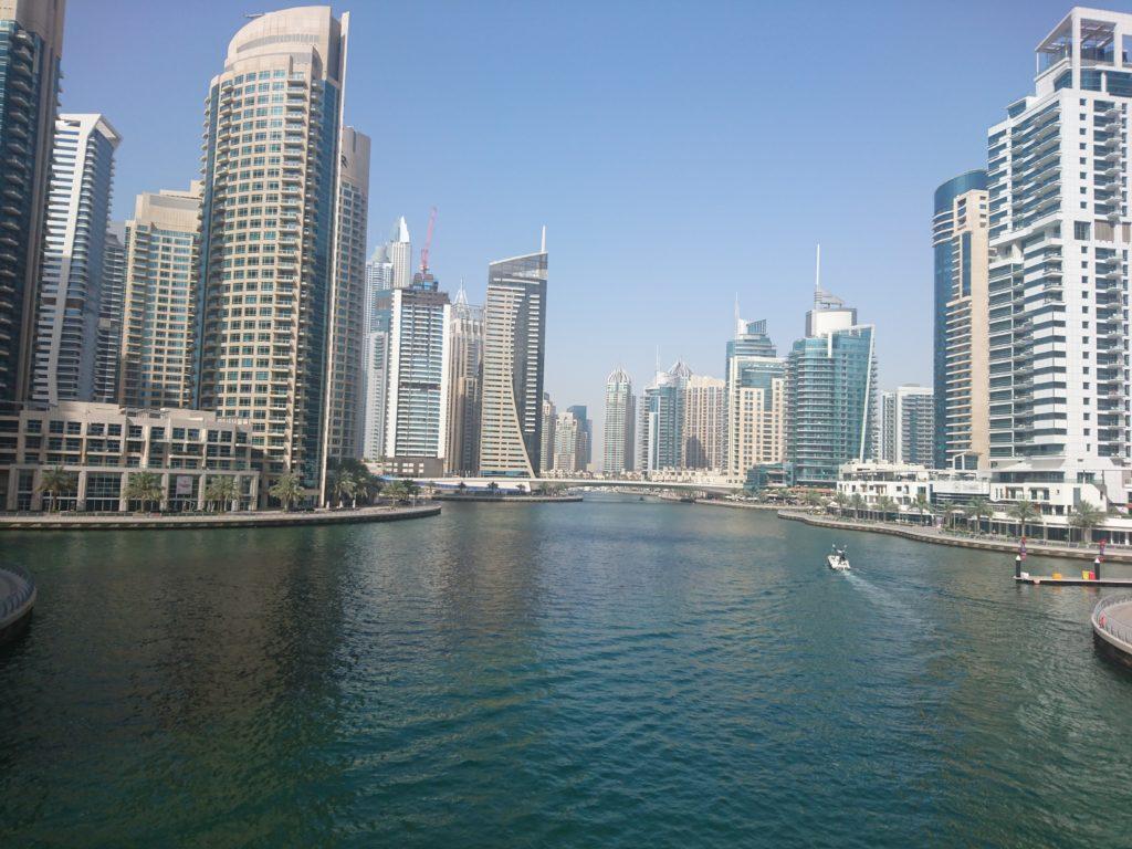 La marina de Dubaï