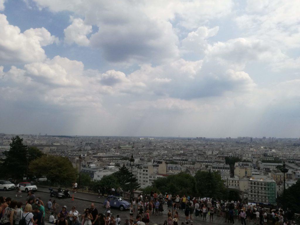 vue sur Paris depuis Montmartre