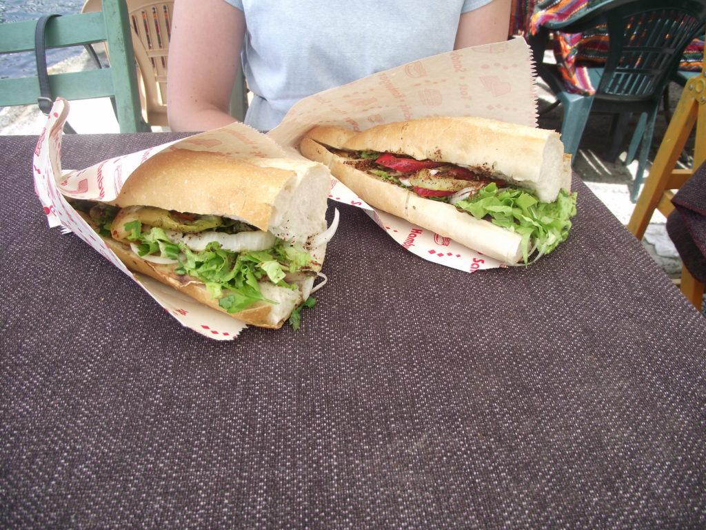 Sandwichs du marché aux poissons
