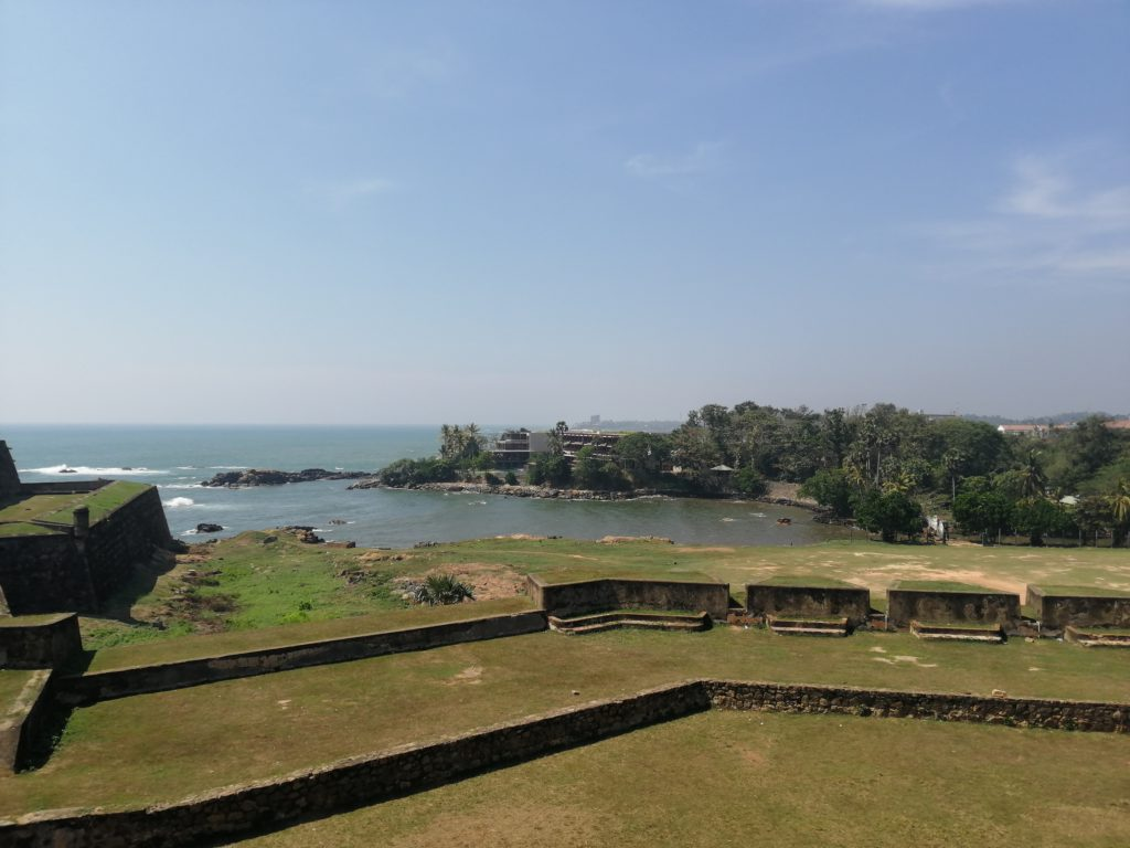 Galle, côté fortification