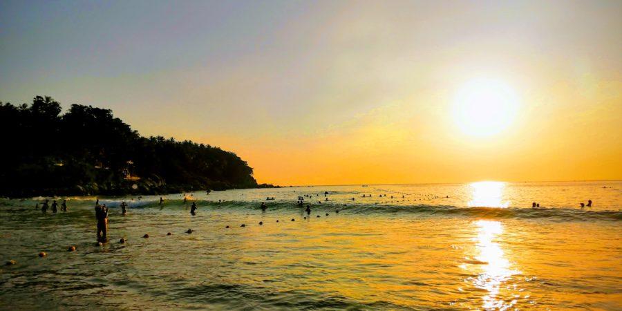 Sunset à Karon Beach