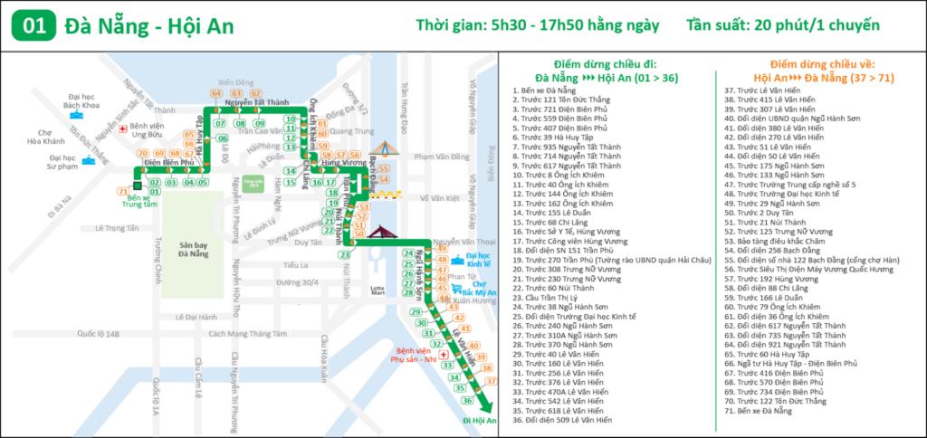 Bus Da Nang > Hoi An