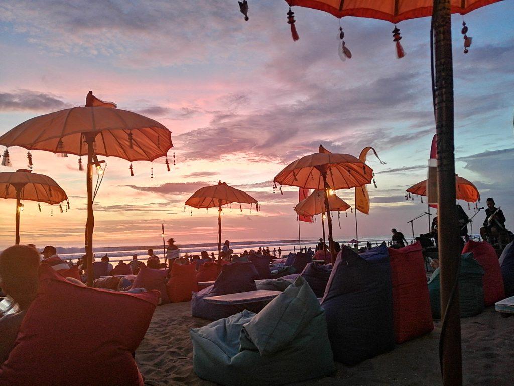 Sunset à Bali