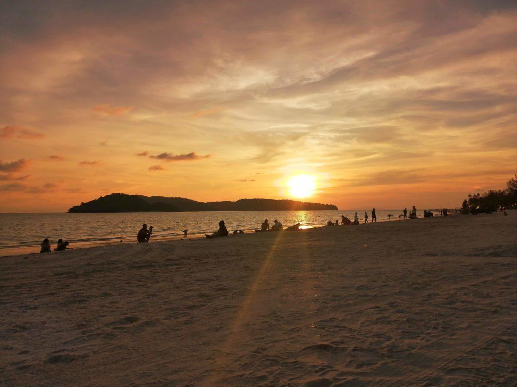 Sunset Cenang Beach