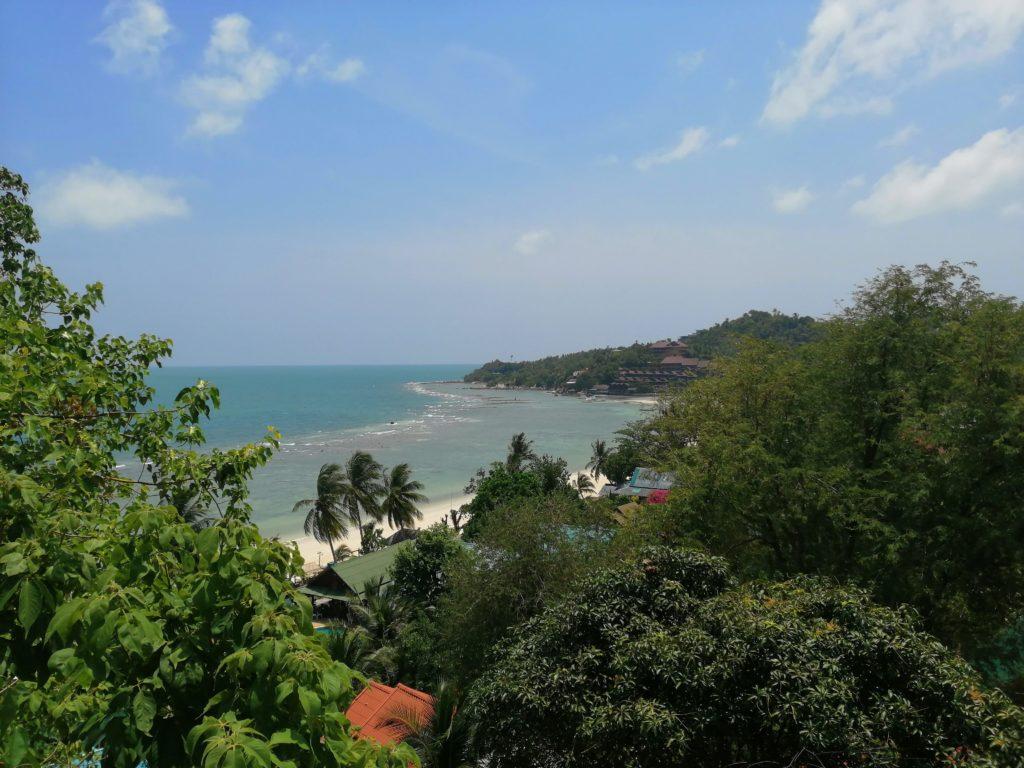 Vue sur Koh Phangan
