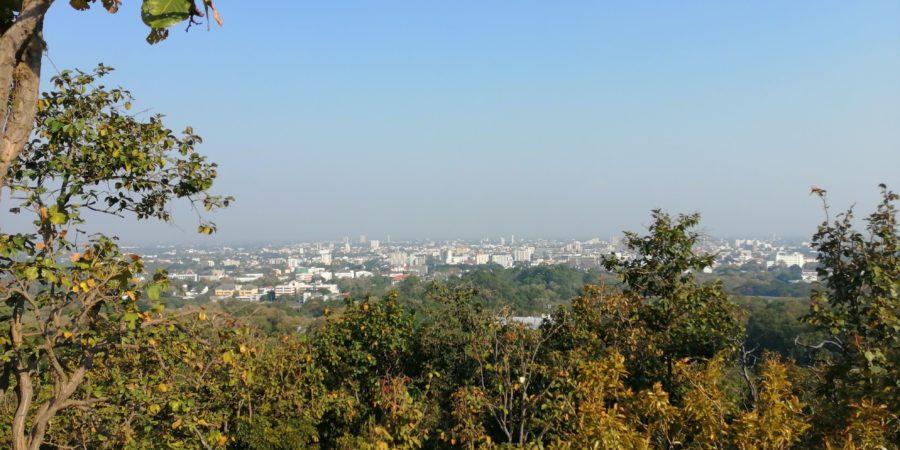 Vue sur Chiang Mai