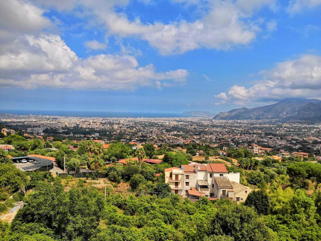 La vue depuis Monreale