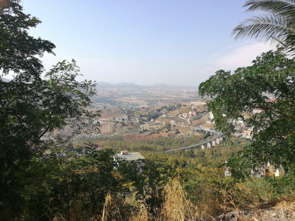 Vue sur la vallée - Agrigente