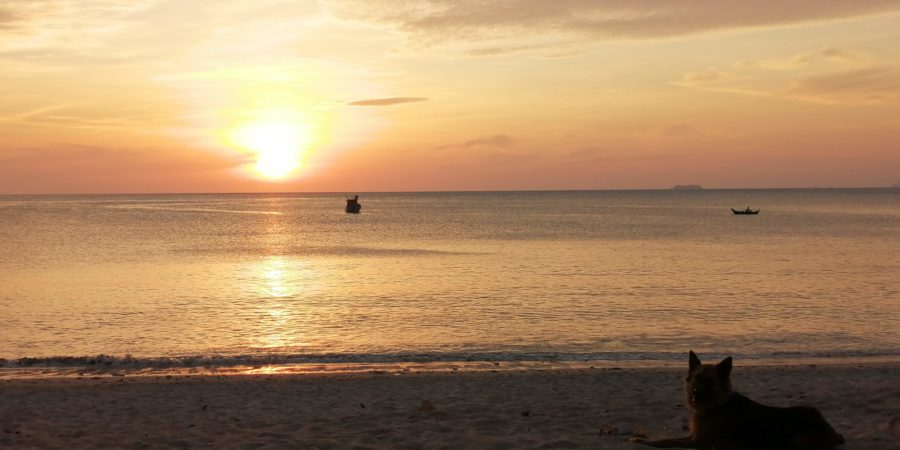Sunset à Koh Lanta