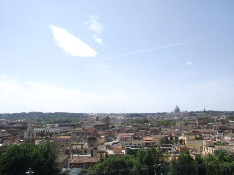 Vue depuis la Villa Borghese