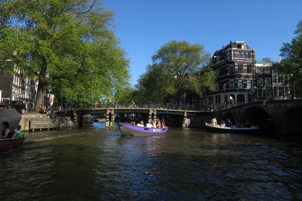 balade sur les canaux Amsterdam