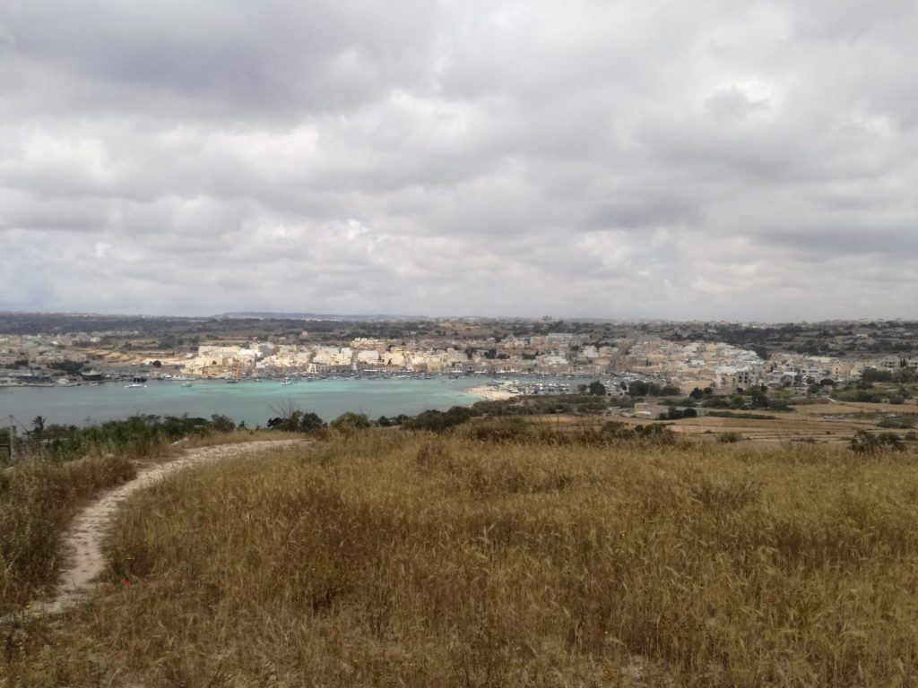 Vue sur Marsaxlokk