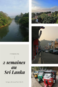 Itinéraire 2 semaines au Sri Lanka