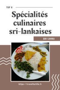 Spécialités culinaires sri-lankaises