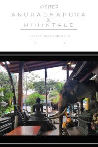 Visiter Anuradhapura et Mihintale