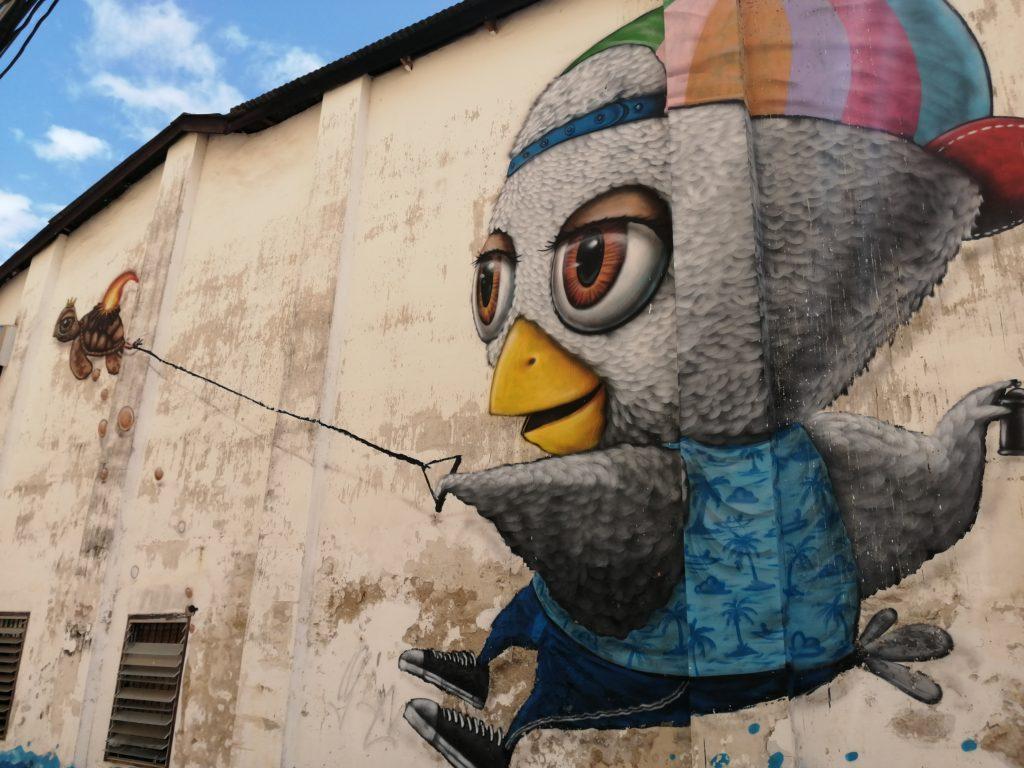 Street art Phuket Town