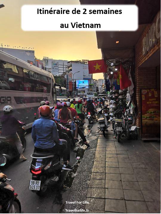 2 semaines au Vietnam