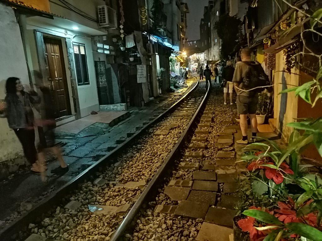 Train Street Hanoï