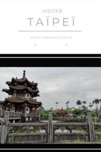 Visiter Taïpeï