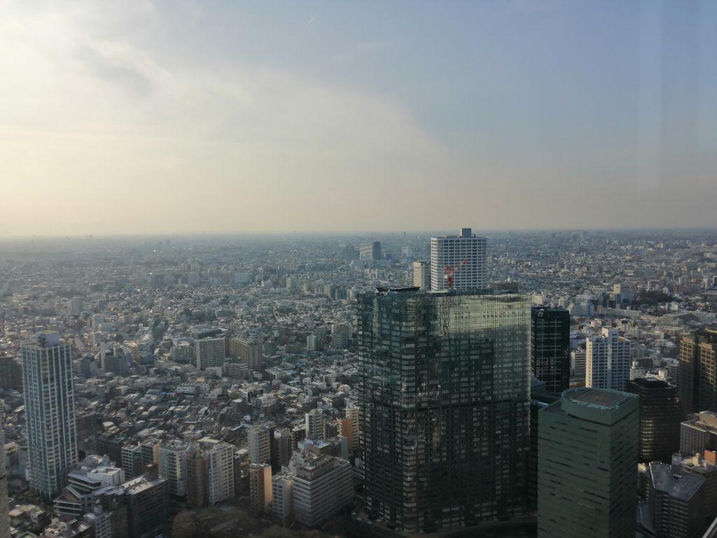 Vue depuis la mairie de Tokyo