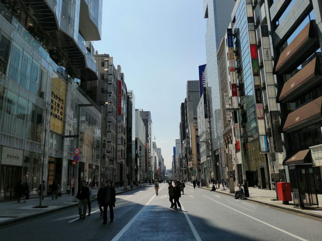 Quartier Ginza à Osaka