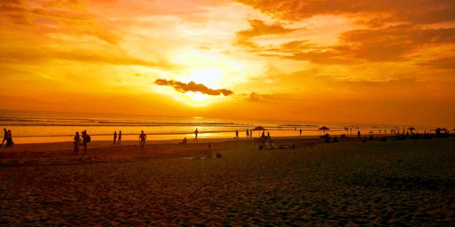 sunset à Seminyak