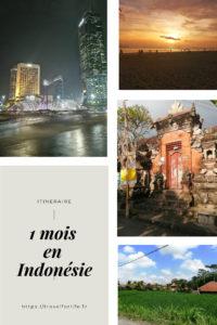 Itinéraire 1 mois en Indonésie
