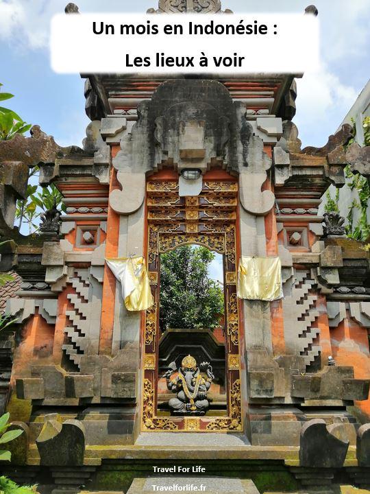 Un mois en Indonésie