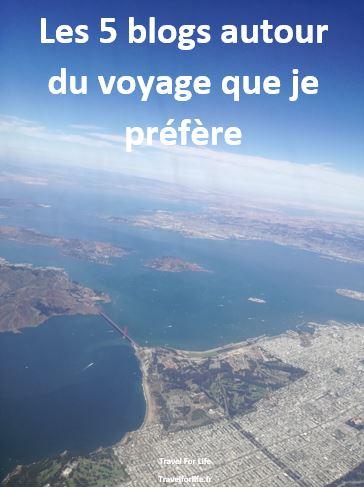 5 blogs voyage