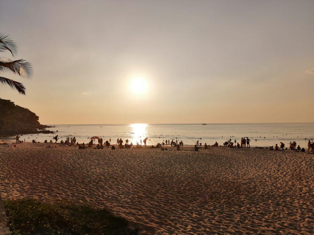 Sunset à Phuket