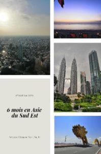 Itinéraire 6 mois en Asie