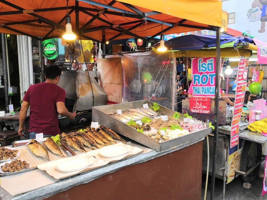 Night Market à Krabi - Thaïlande