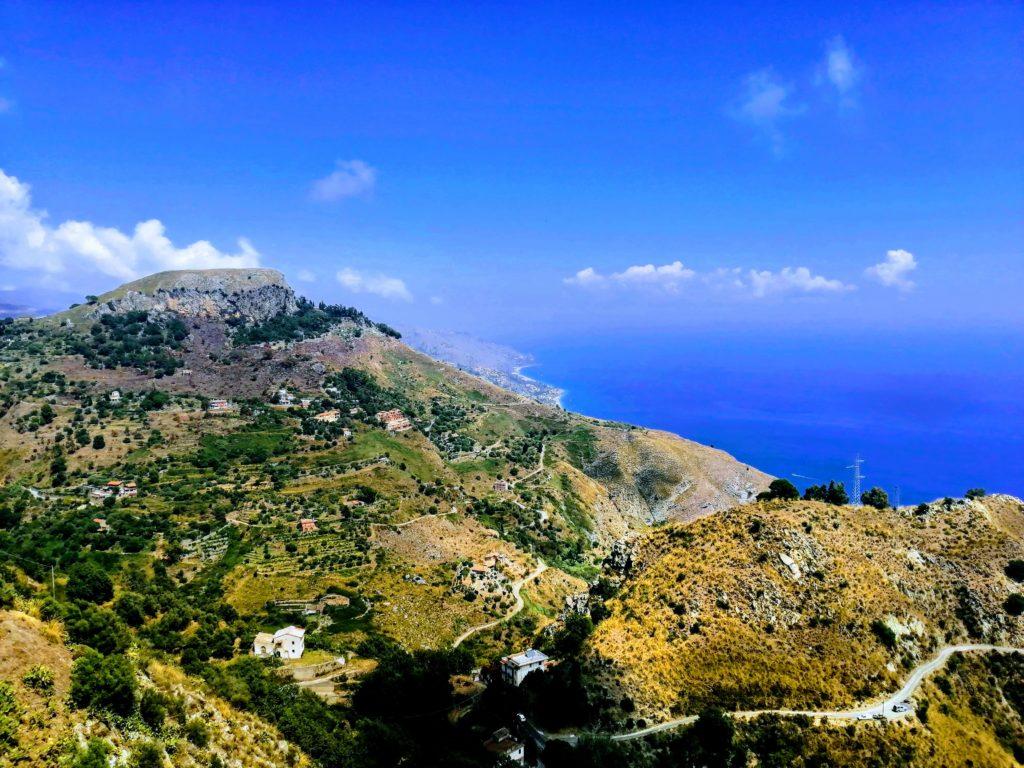 La vue depuis Castelmola