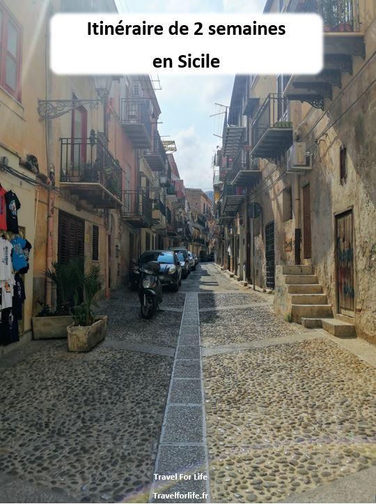 2 semaines en Sicile