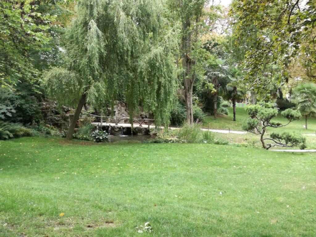 Le square des Batignolles