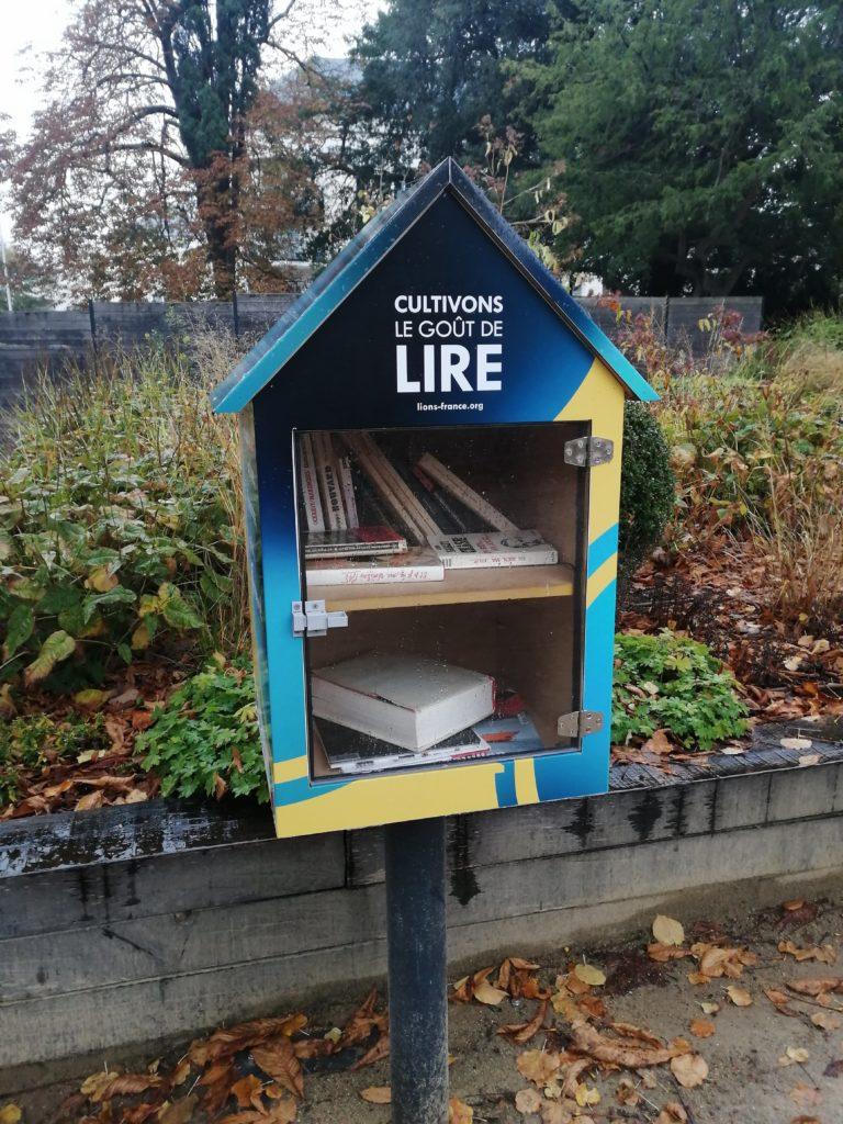Boite à livres à Angers