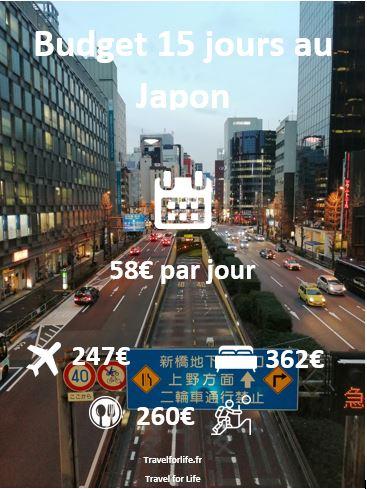 Budget 2 semaines au Japon
