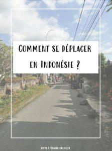 Comment se déplacer en Indonésie ?