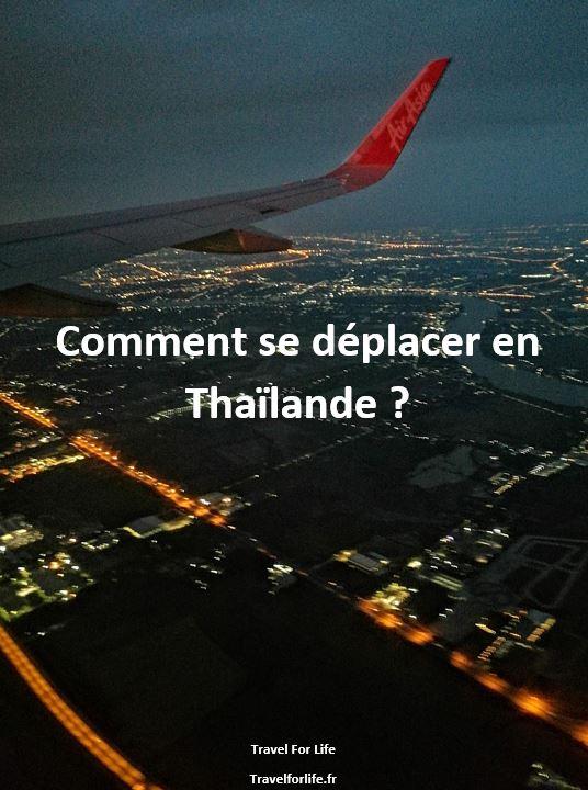 Comment se déplacer en Thaïlande