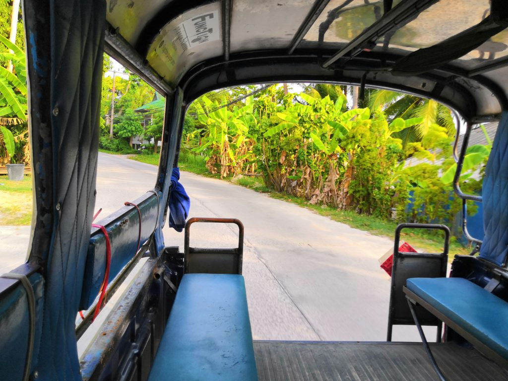 Songhteow à Koh Phangan