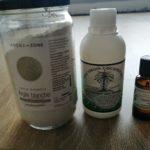 Ingrédients pour faire un dentifrice maison