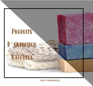 Produits d'entretien naturels