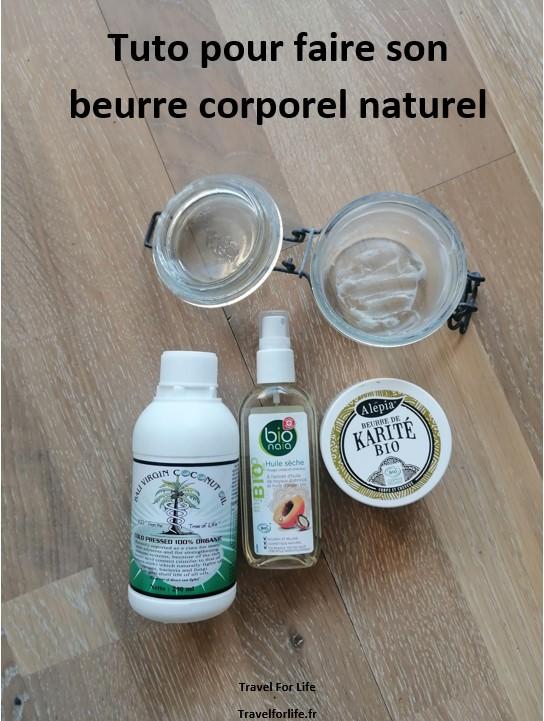 DIY beurre corporel naturel