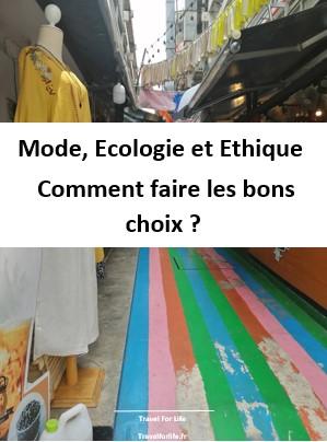Mode et Ecologie