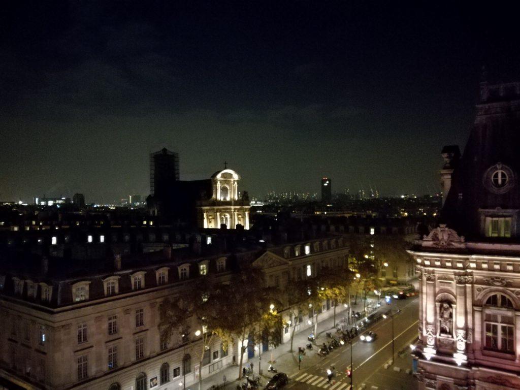 Vue du Perchoir dans le 4ème arrondissement de Paris