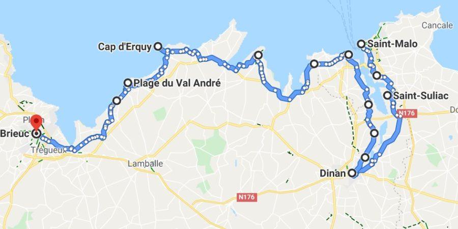 Voyage à vélo en Bretagne