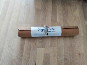 Tapis de Yoga en liège - Idées cadeaux