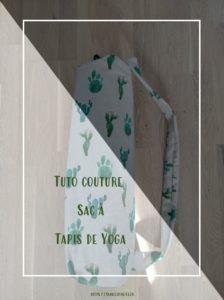 Comment coudre un sac à tapis de Yoga